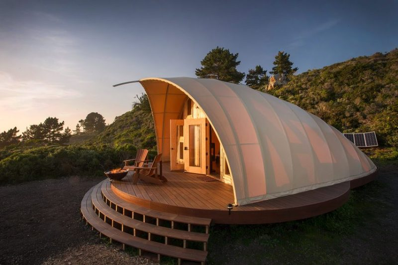 Autonomous tent by Harry Gesner. Inspiration camping/glamping Parka Architecture & Design, Québec.