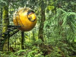 Les Free Spirit Spheres, en Colombie-Britannique. Inspiration Camping/Glamping Parka Architecture & Design, Québec.