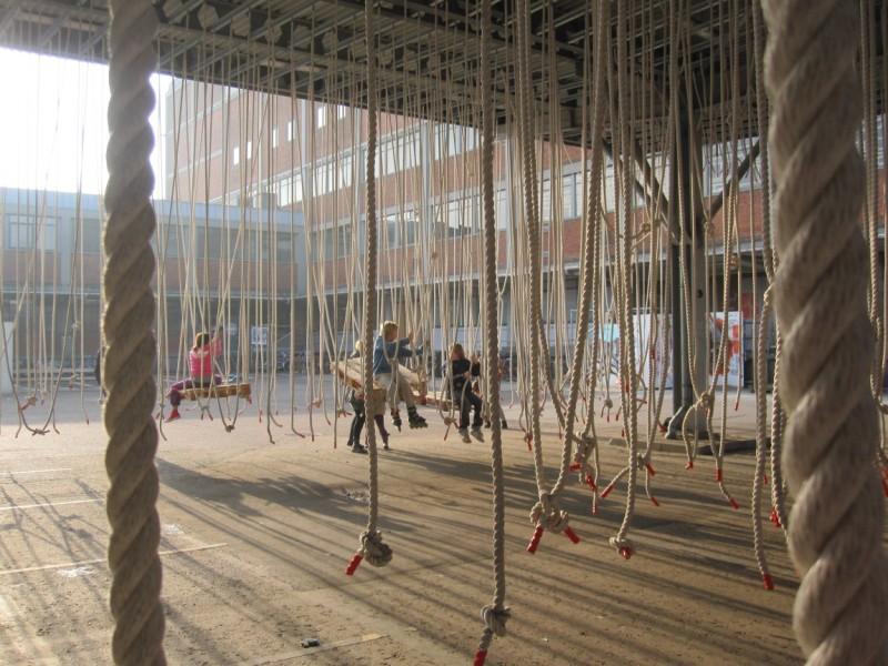 Meet you at the ropes - Places publiques éphémères