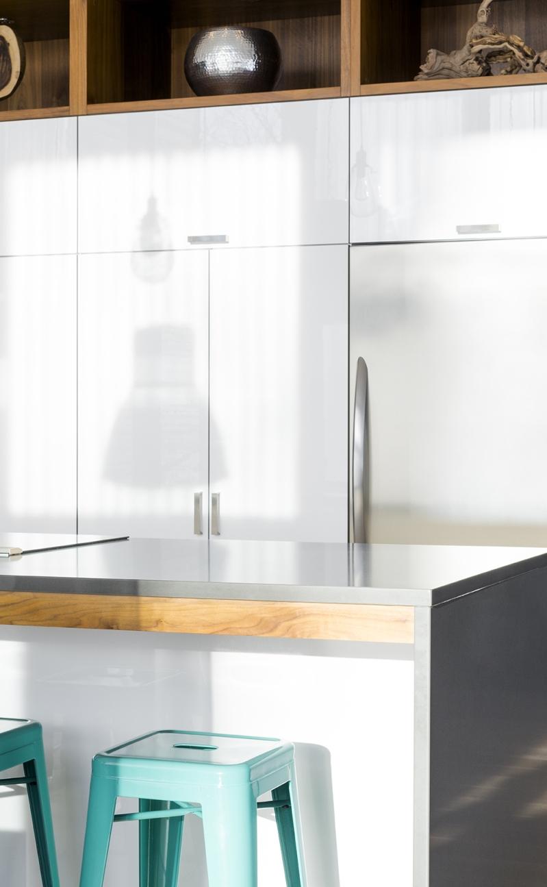 Résidence à Stoneham   Compte et armoires de cuisine