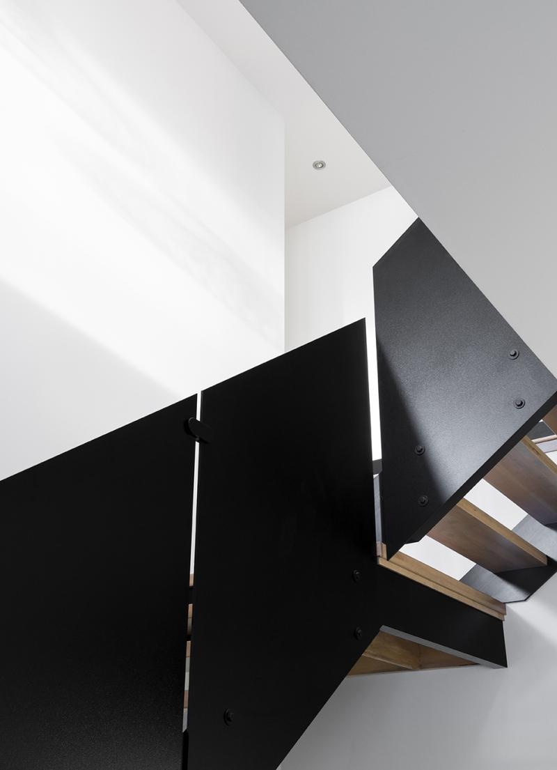 Résidence à Stoneham   Design d'escalier